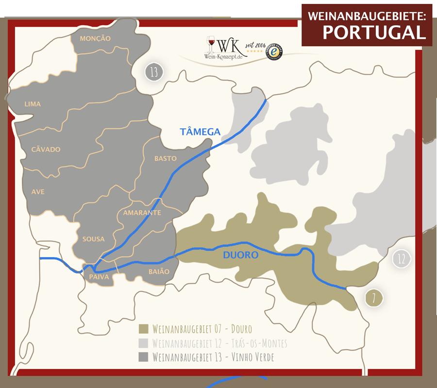 Weinanbaugebiet Vinho Verde