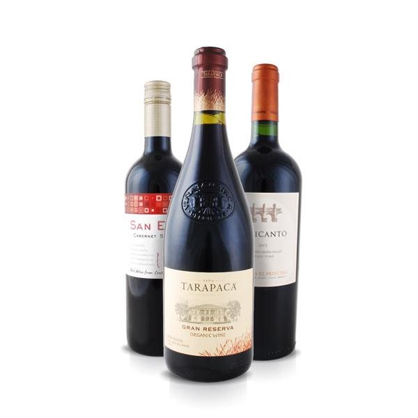 Weinpaket 3 Schätze aus Chile