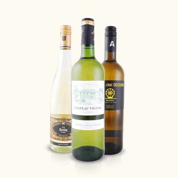 Weißweinpaket Elegante Erfrischung