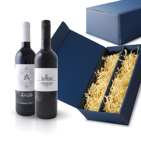 Weingeschenk - Bio-Rotweine 2er