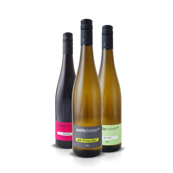 Weinpaket »Anette Closheim stellt sich vor«