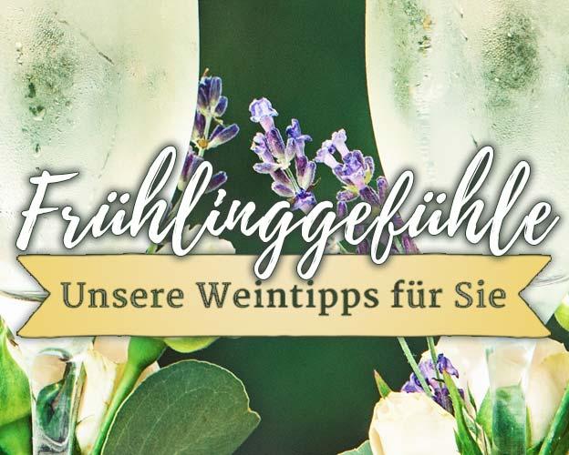Wein für Frühlingsgefühle