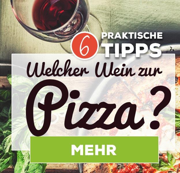 Wein zur Pizza