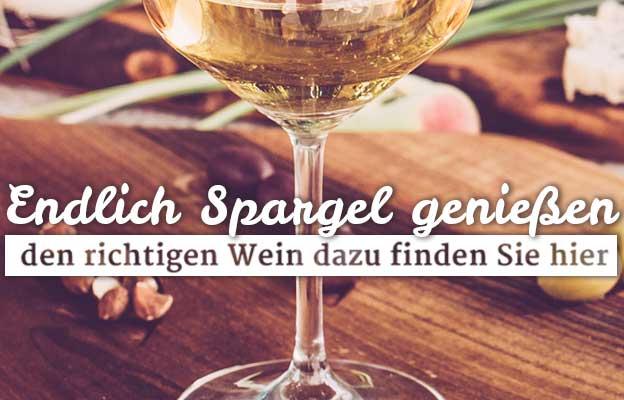 Wein zum Spargel