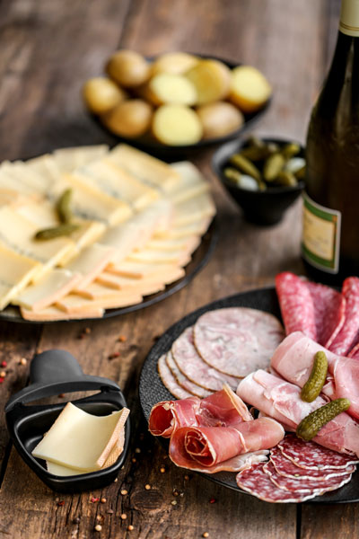 Raclette Wein