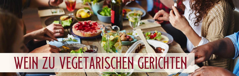 Wein zu vegetarischen Gerichten