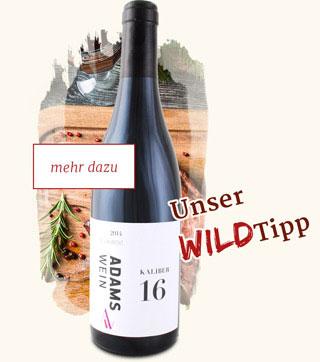 Weintipp St Laurent zum Wild